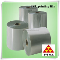 PVC printing film product packaging