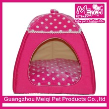 New arrival colorful small dog tent soft pet bed for dog