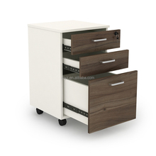 Mobile pedestal cabinets with drawers office equipment storage file cabinet