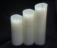 Church Led Flameless Candle,Flameless Candles Battery Operated Candles with Remote Timer Flickering