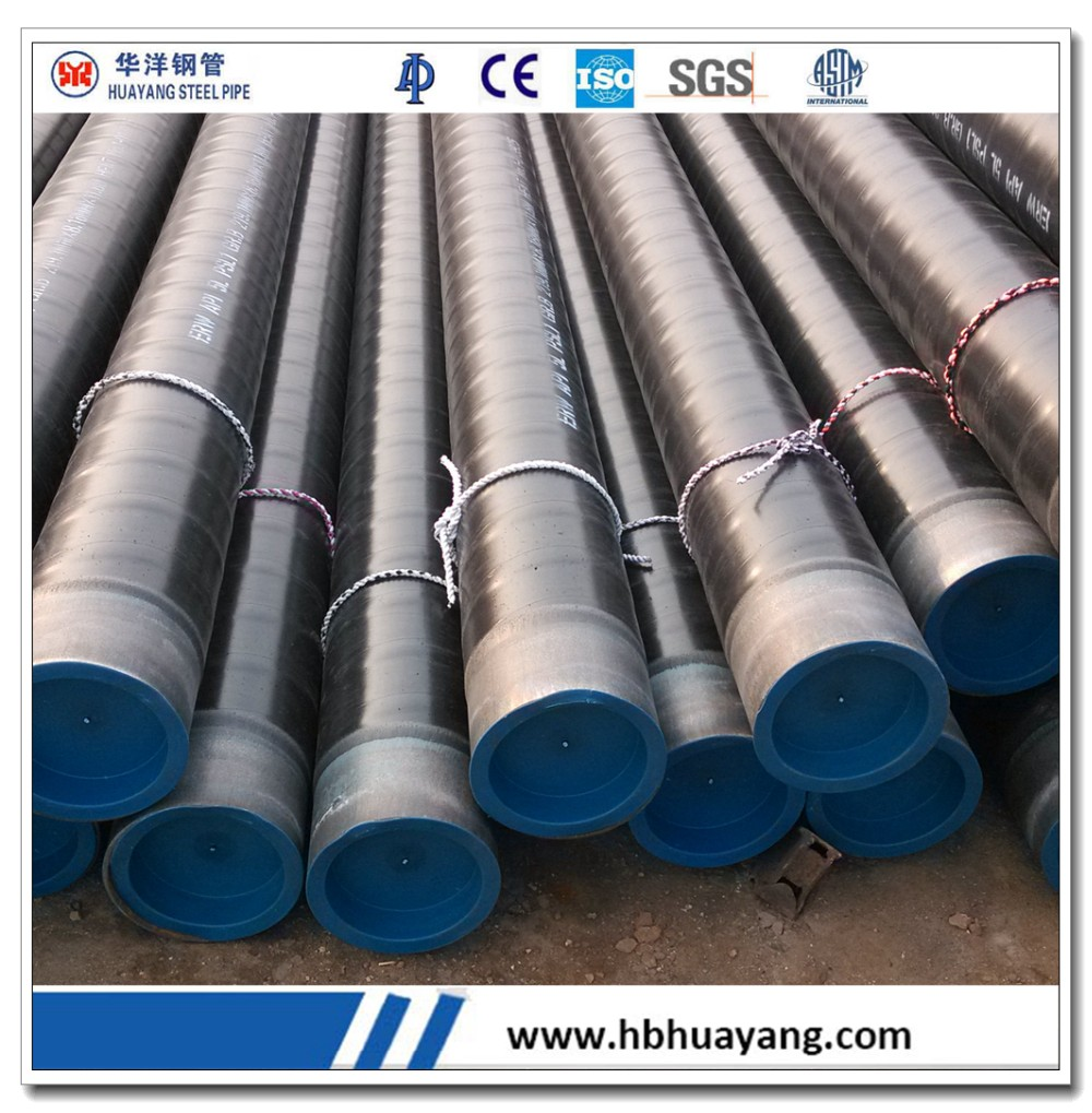 seamless oil gas pipeline project supplier China