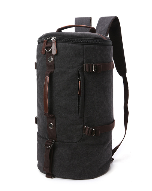 outdoor 16 OZ canvas backpack fashion laptop backpack