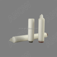 Dual Layer Graded Density Structure Pleated PES Membrane Microbial Stabilization Filter Cartridge