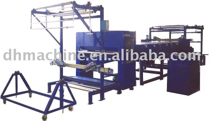 scattering laminating fabric coating machine