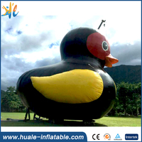 New Design PVC Giant Inflatable Promotional Duck, Rubber Inflatable Animal For Sale