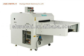 WEISHI Continuous fusing press 600mm --Famous product in China