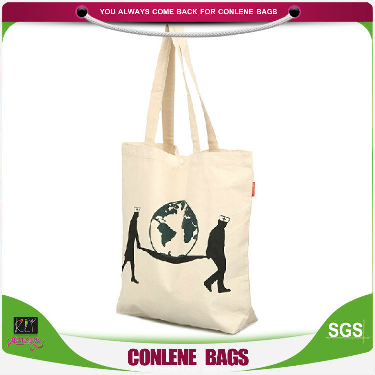 Wholesale china factory cotton bag, cotton tote bag, cotton shopping bag With Logo Printed