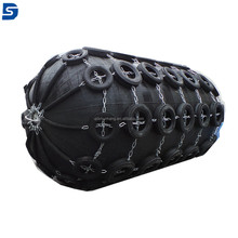Whole Wrapped Pneumatic Floating Fender Used For Ship To Dock