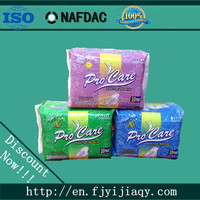 lady soft best selling sanitary pad/ sanitary napkin