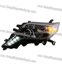 3C LED head light for TOYOTA Prado /Land cruiser day runing light 2014