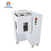 Automatic Electric Chicken Meat Strips Slicer Slicing Cutting Machine