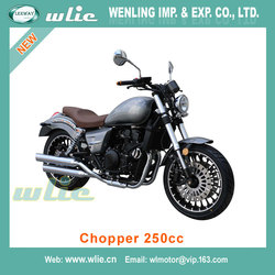 Factory price new generation design motorcycle motos kingo Street Racing Motorcycle Chopper 250cc