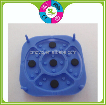 Custom silicone rubber tutton keypad