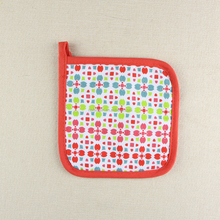 Most Popular 18x18cm Colourful Square Canvas Potholder Made in China