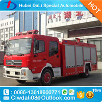 Cummins Dongfeng Water 12,000 L big fire fighting truck 4*2 left / right hand driving