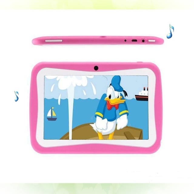 CP 7 Inch Kids Quad core RK3128 Tablet PC 8GB RAM 1G ROM Android 5.1 Christmas gift