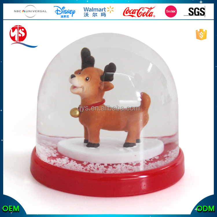 Snowglobe Mini Souvenir Christmas Snow Globes Blower
