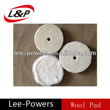 Car care wool pad