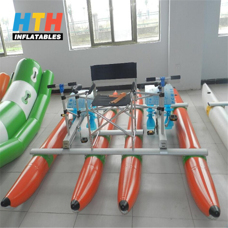 Water sports ride 2-rider water bikes pedal boats for sale