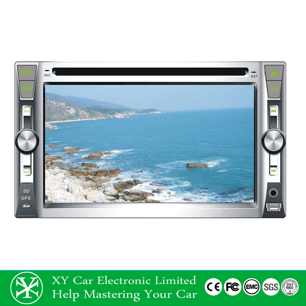 double din car gps navigation dvd for gmc silverado/tahoe/ava XY-D5062
