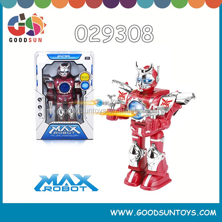 B/O medium robot with light and music B/O robot can 360 degree rotation fun toys for children 029308