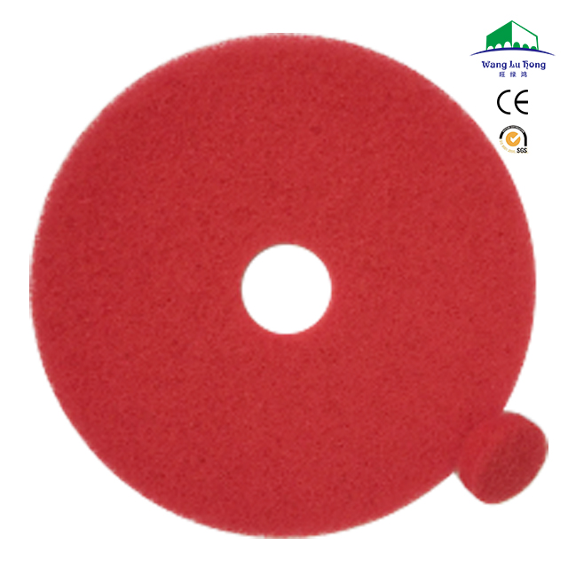 recycle cheap polyester fiber buffing polishing pad for marble and granite cleaning