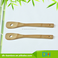 Wholesale Food Grade Bamboo Cooking Tool Slotted Turner, Chinese Wooden Kitchen Utensils