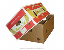 Modern new products corrugated paper banana packaging box