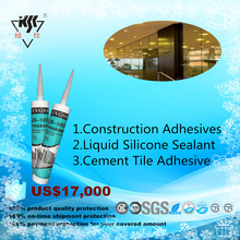 Liquid Silicone Sealant Cement Tile Adhesive Construction Adhesives