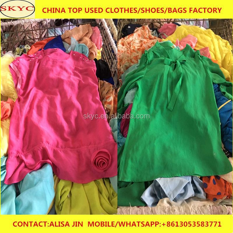 bulk kenya used clothing wholesale Guangzhou fatory good condition used clothing