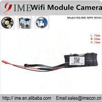Mini Wireless HD 720P Hidden Camera Wifi Module DVR Video IP P2P Recorder