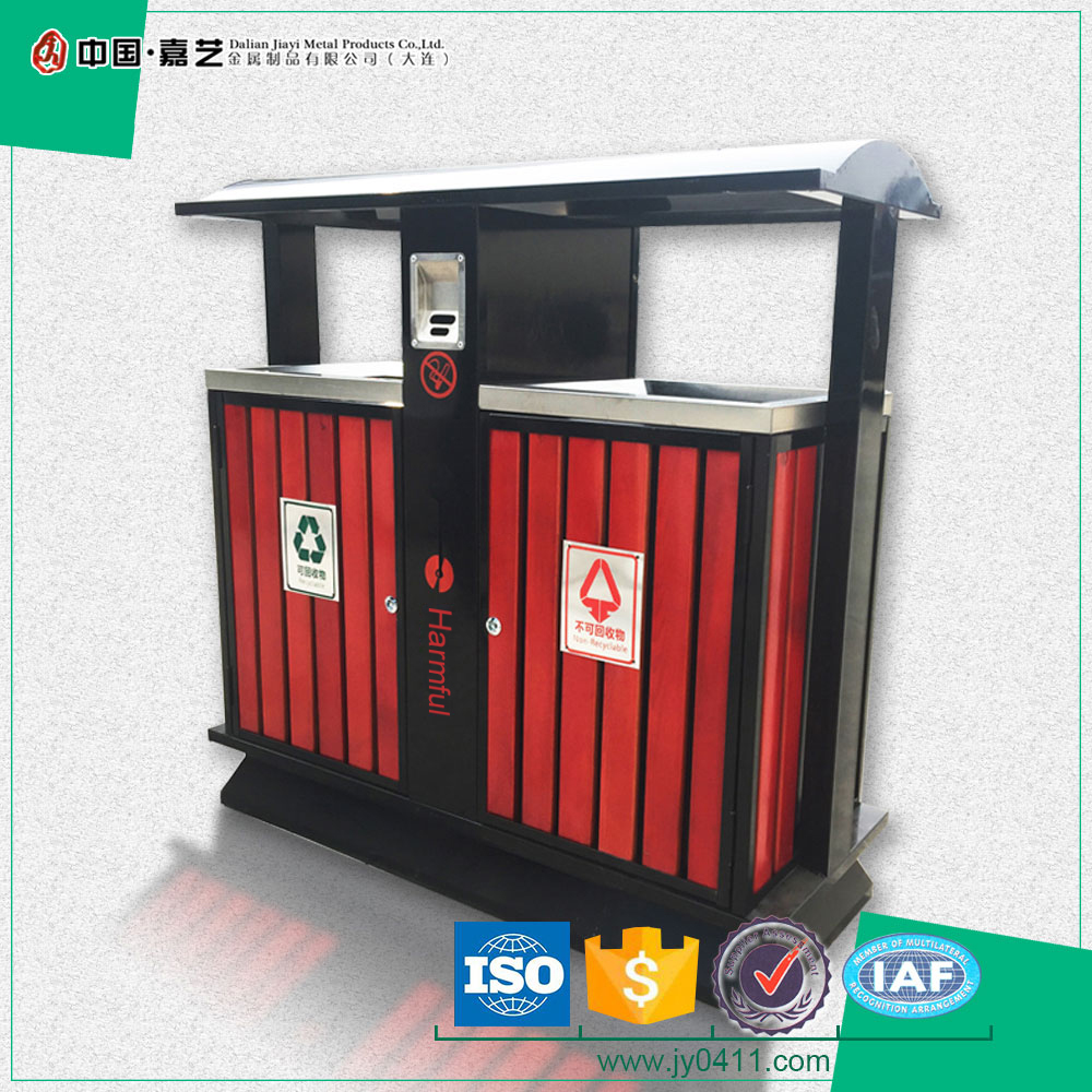 For sale customized ashtray and battery can recycling street rubbish bin