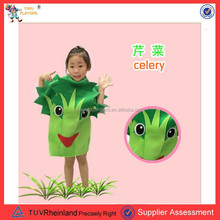 Newest carnival costume green vegetable costume carnival costume PGKC-2795