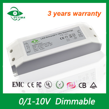 3-5 Years Warranty AC DC Constant Current 1400mA PWM Dimming LED Driver 35W