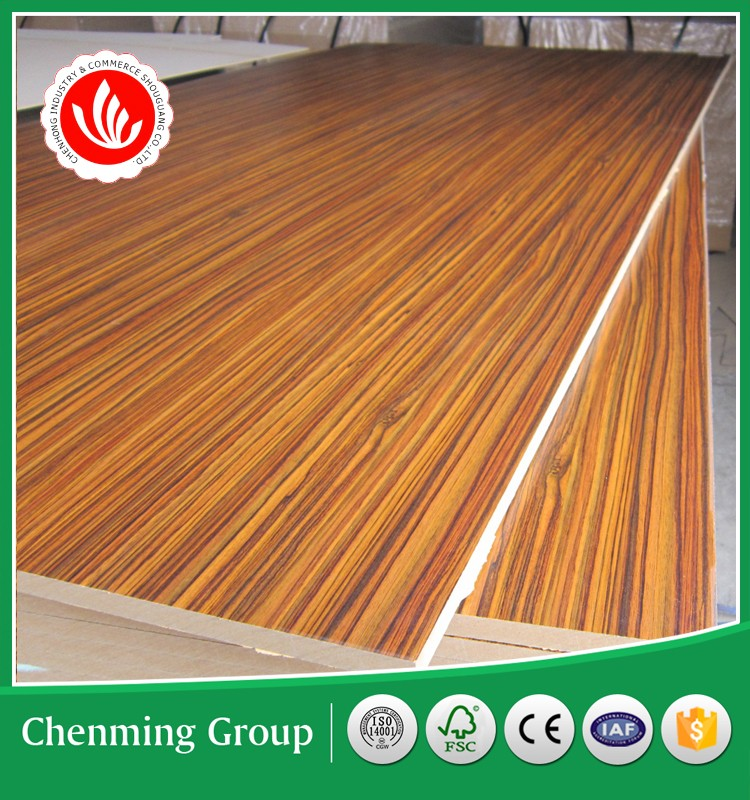 melamine MDF board for furniture
