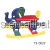 2015 New wooden rocking horse toy for kids,Wooden toy Riding Elephant Model Toy with cute color,rock horse toy for baby TS0027
