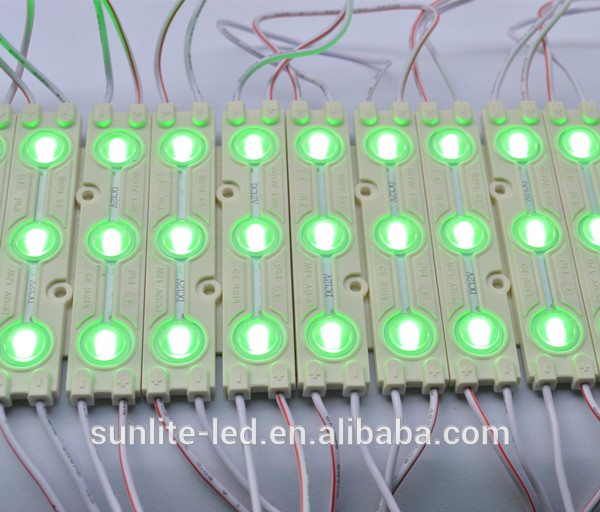 160 degree high brightness injection smd 2835 led module/module led light with lens 12V