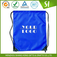 Colorful drawstring backpack/Plain drawstring bag