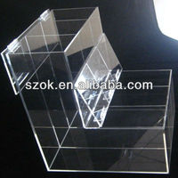 new design acrylic clear bulk food container