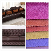 cheap and nice pattern,lichi,artificial sofa leather,hot sell