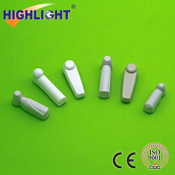 HOT!!! A001-38 abs plastic 38mm mini pencil tags/AM 58KHz Pencil Tag/ garment security alarm tag