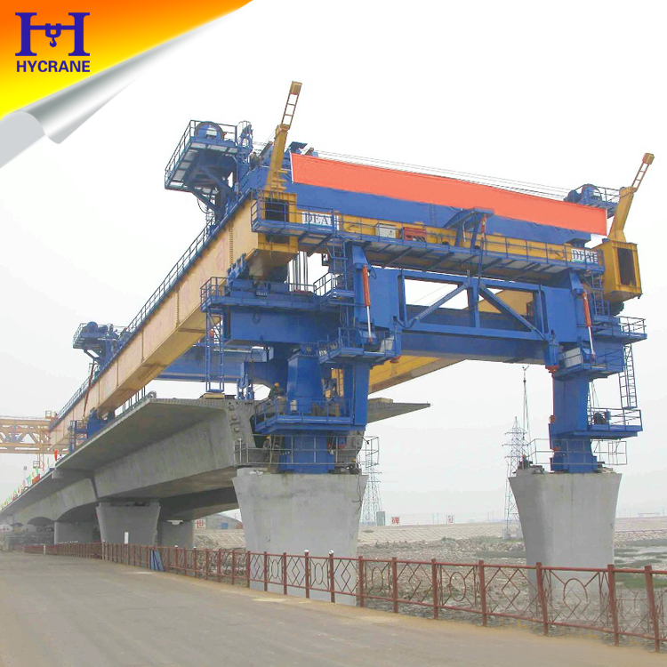 High Way Bridge Girder Erecting Launching Gantry Crane