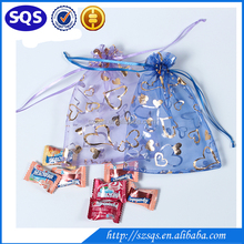 custom china fashion large cheap organza gift bags wholesale hot selling organza wedding pouch jewelry pouch
