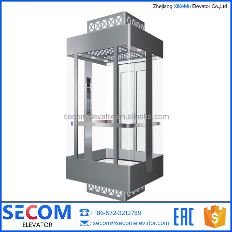 Observation Lift indoor and outdoor Sightseeing Elevator