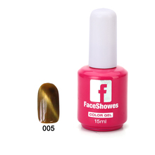 180 Color 5ML Magnetic Chameleon 3D Cat Eye UV LED Gel Nail Polish