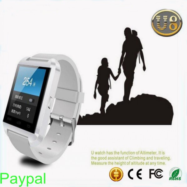 New android 4.4 bluetooth watch mobile phone