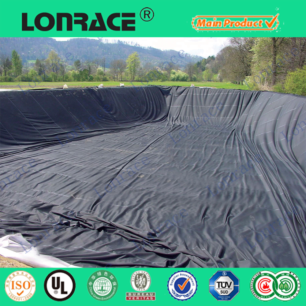 professional high quality HDPE plastic fish ponds liner
