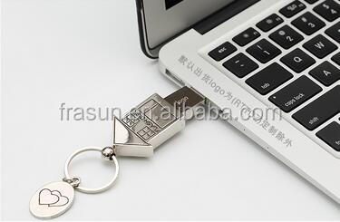 Bulk 1gb 2gb 4gb 8gb 16gb small house shape design dog tag usb flash pen drive