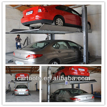 2 post 2 levels home garage Parking Lift