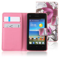 Slim-Fit Premium leather flip Case for Huawei Ascend y300